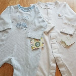 NWT.  Two Baby Sleep and Play Outfits